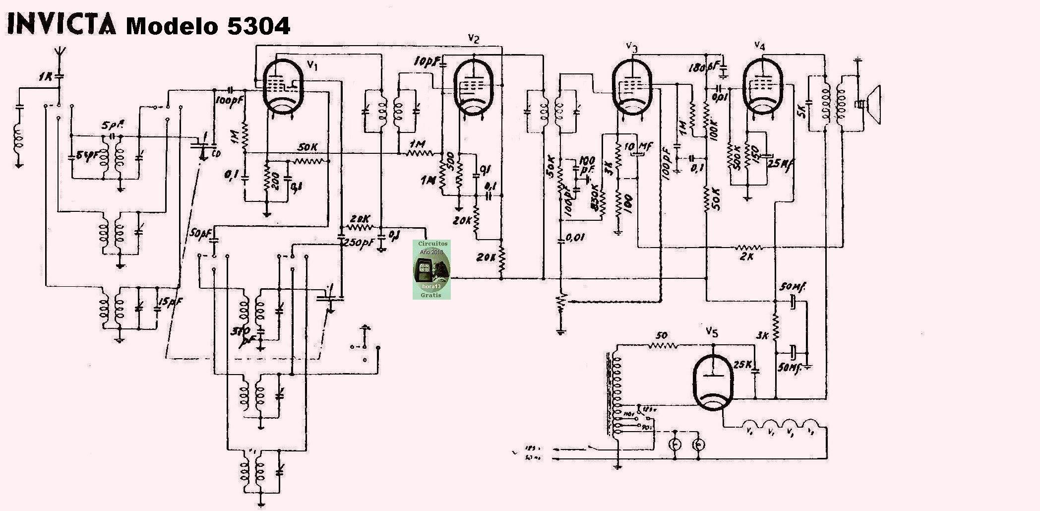 circuitos   radios   tocadiscos   amplificadores   transmisores   valvulas  transistores   parte dos