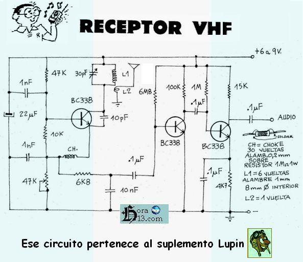 Circuito Walkie Talkie Casero : Transmisores am fm vhf uhf hf transceptores antenas