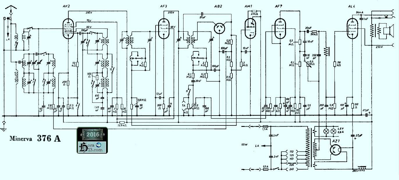 Circuito Wincofon : Circuitos parte tres radios antiguas a valvulas tocadiscos