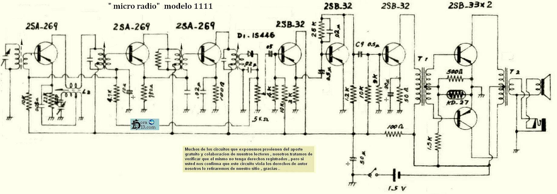 Circuito Wincofon : Circuitos parte cuatro radios valvulares autoradios